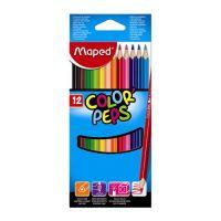 """Színes ceruza készlet háromszögletű  MAPED """"COLOR`PEPS"""", 12 db"""