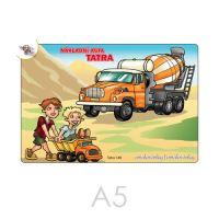 Kifestő A5 Tatra teherautó