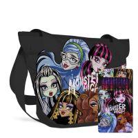 Stílusú Monster High válltáska + ajándék