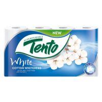 Toaletný papier Tento White, 2-vrstvý/18 m, 8 ks/bal