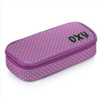 Puzdro - etue Komfort OXY Violet Dots