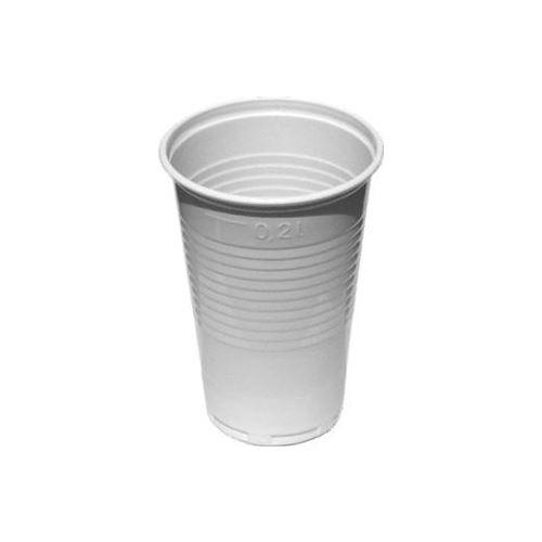 Pohár fehér 0,2 l, 100 db