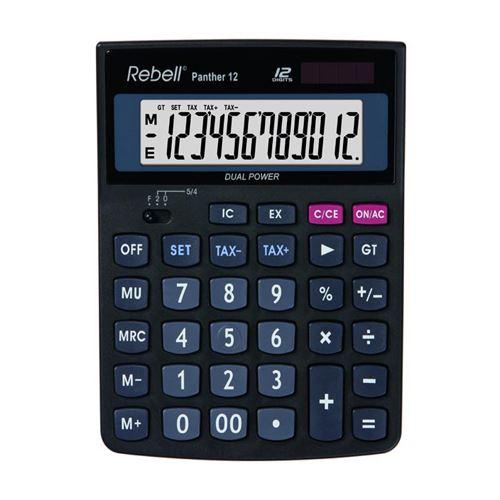 Kalkulačka stolová REBELL RE-PANTHER 12 BX