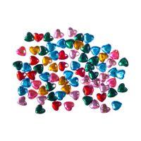 Dekorációs  szívecske kövek mix szín, 200 db