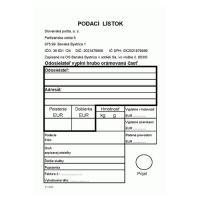 Podací lístok A6 (683)