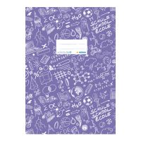 A füzet Schooldoo A4 lila / 1db borítója