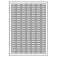 Címkék PRINT A4/100 db, 25,4x10 - 189 címke, fehér