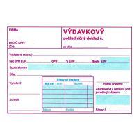 Výdavkový pokl. doklad s DPH A6 (168)