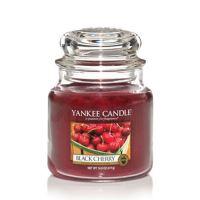 Sviečka Yankee Candle - Black Cherry, stredná