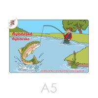 Kifestő A5 Halászat