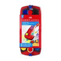 Farby vodové Faber-Castell stavebnicové 24 farieb