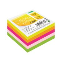 Öntapadós jegyze Sticky Notes - Neon 76x76 mm/500 l.