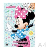 Kifestőkönyv JM A4 Minnie