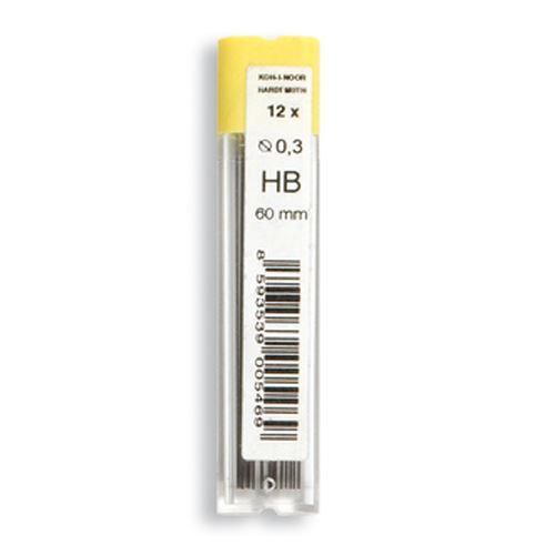 KOH-I-NOOR grafit HB / 0,3 mm, 12 db