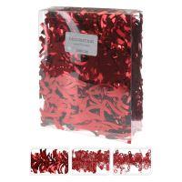 3 m piros girlanda különböző minták, 1db