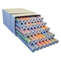 Polcpapír 0,5 m x 10 m PE, vegyes minták