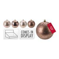 Karácsonyfagömb - PP delight 100 mm, vegyes/1db