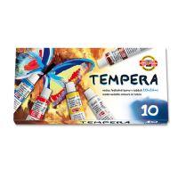 Tempera KOH-I-NOOR 16 ml, 10 db készlet