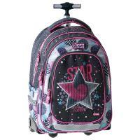 Školský batoh na kolieskach Trolley Play, Star Fashion
