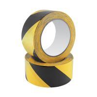 Biztonsági szalag Safety Tape 48 mm x 20 m, fekete/sárga