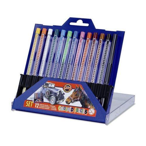 Színes ceruzák KOH-I-NOOR Scala, 12 db készlet