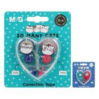 Hibajavító  M&G So Many Cats! /5 mm x 5 m/ , 2 darabos készlet