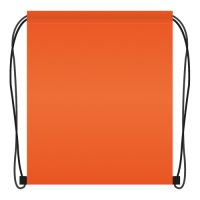 Tornazsák 41x34 cm - narancssárga