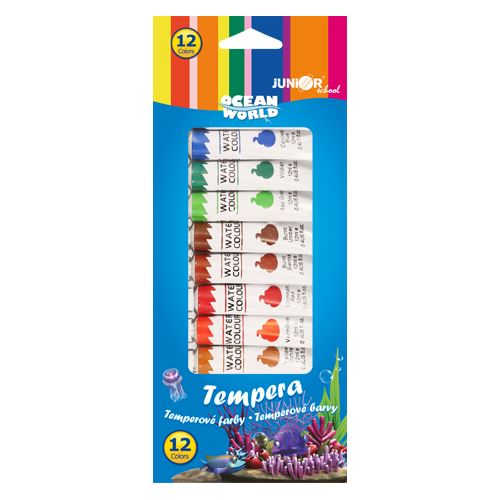Tempera Ocean World 12 ml - készlet 12 db