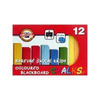 Iskola kréta KOH-I-NOOR szín, 12 db készlet