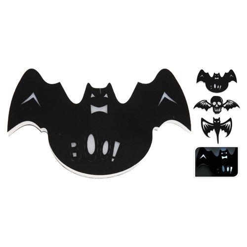 Dekorácia Halloween - rôzne motívy 40 cm - svietiaci LED, 1ks