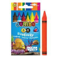 Zsírkréta Ocean World háromszögű JUMBO 12 db