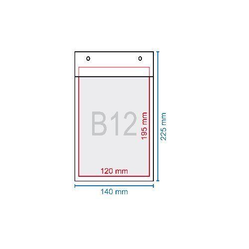 Légpárnás boríték B12, 140 x 225 mm (120x215)