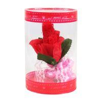 Ajándék - rózsa fehér neművel