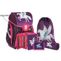 Školská taška - 5-dielny set, SMART 3D Pegasus, LED