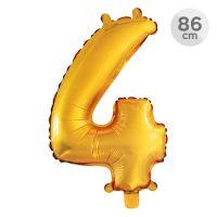 Számlufi szülinapra 86 cm - 4, arany