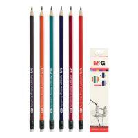 Ceruza háromszögű HB gumis