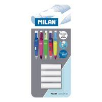 Radír betét MILAN ceruzába, készlet 4 db