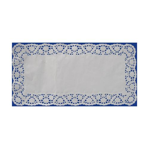 Csipke dekoráció. négyzet 20 x 40 cm (100 db csomagonként)