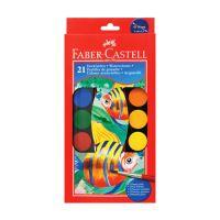Vízfesték Faber-Castell 21 szín
