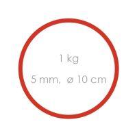 Gumi piros erős (5 mm, O 10 cm) [1 kg]