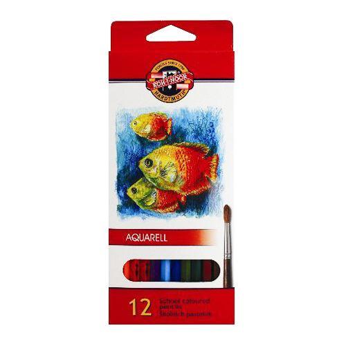 Színes ceruzák KOH-I-NOOR akvarell, 12 db készlet