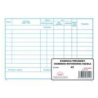 Evidencia prevádzky osob. motor. vozidla (55)
