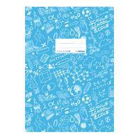Borító notebook Schooldoo A4-es kék / 1db