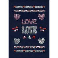 Dekormatricák 6647 Love
