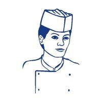 Kuchárska čiapka, lodičky (25 ks v bal.)