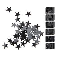 Dekorációs konfetták 50g - fekete, vegyes/1db