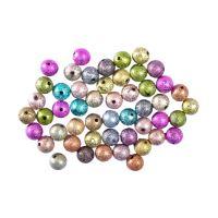 Dekoráció  gyöngyház gyöngyök  mix szín, 50 db