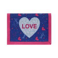 Detská peňaženka Love Heart