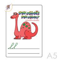 Kifestő A5 Dinoszauruszok