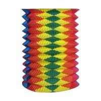 Lampion széthúzható, színes 25 cm (O 15 cm) [1 db]